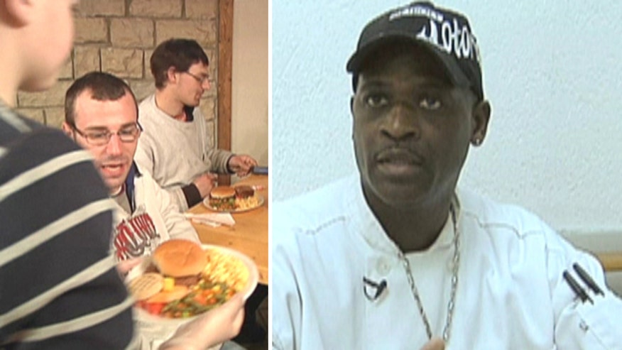 Lauren Blanchard shows us a chef that was once homeless, but now is using his new restaurant to help out the needy
