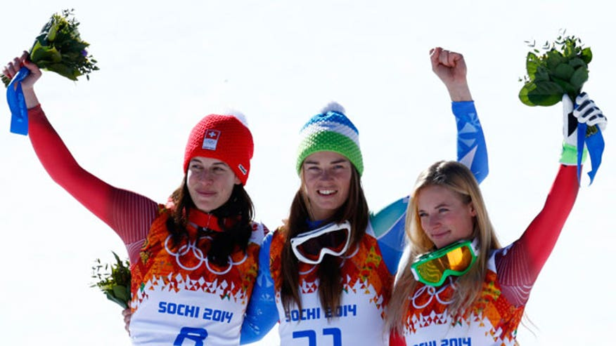It may be cold in Sochi but these women are hot