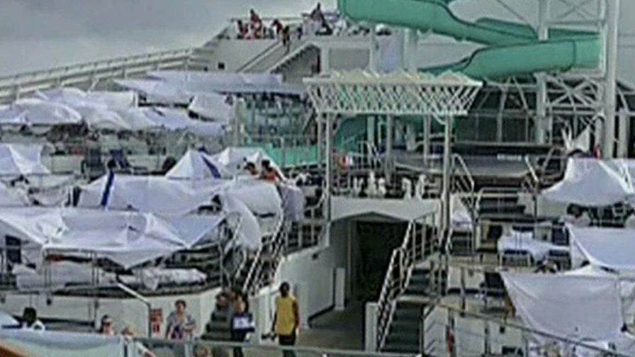 Passengers of stranded cruise ship recount their ordeal