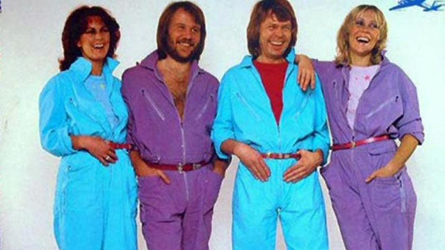ABBA wore outrageous outfits to avoid taxes