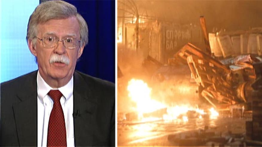 Amb. John Bolton on ramifications of protests in Kiev, on potential devastating effects of Obama's alleged policy failures