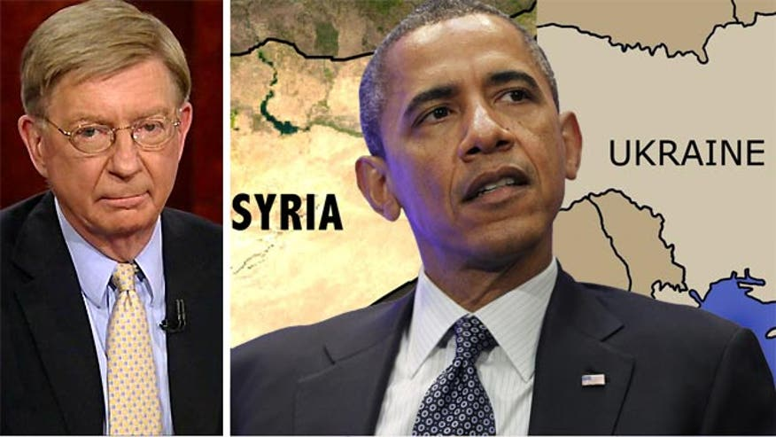 Syndicated columnist George Will said Wednesday that the Obama Administration foreign policy in general, and the US policy toward Syria specifically, is lacking resolve and leadership.