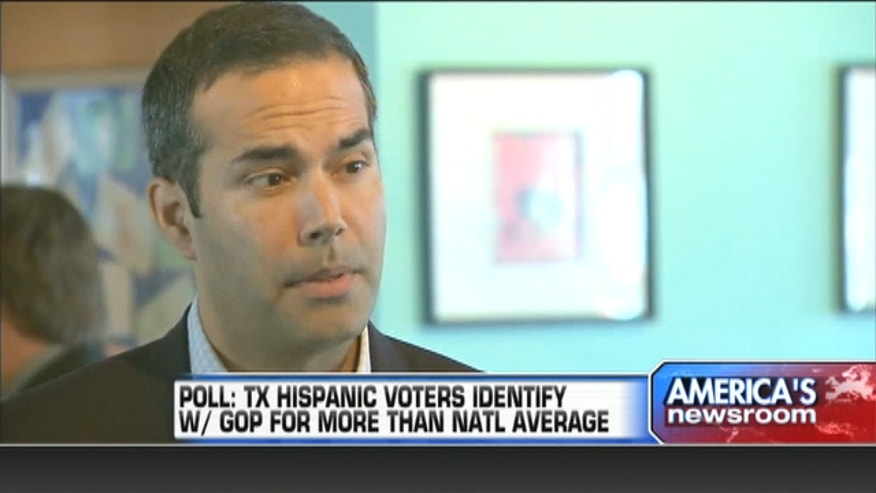 A recent poll found that in Texas the party split among Hispanic voters is just 19%, far below the 30% across the rest of the country. More Hispanics identify themselves as Republican and fewer identify as Dems than anywhere else in the country.