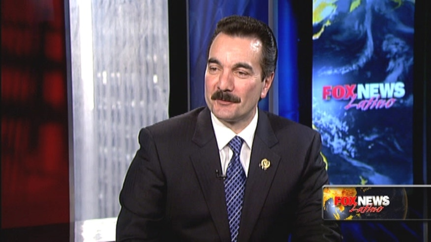 Fox News Latino's Elizabeth Llorente interviews New Jersey Assembly Speaker Vincent Prieto.