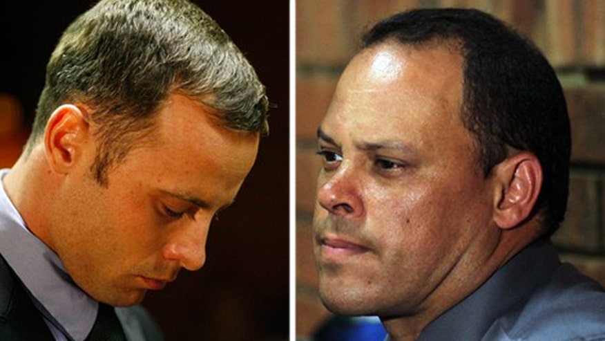 The now-former lead detective faces reinstated attempted murder charges as holes emerge in prosecution of Oscar Pistorius
