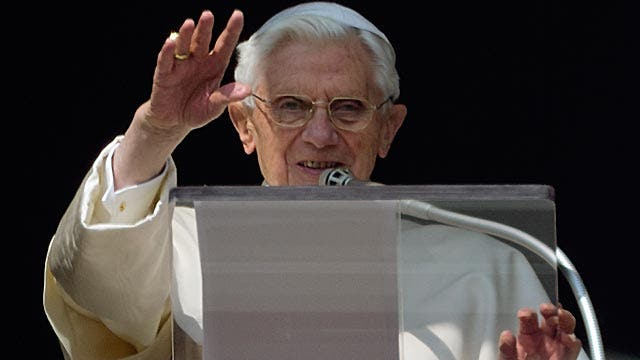 How will Pope Benedict be judged?