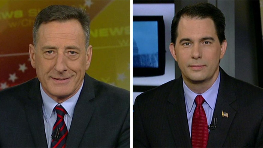 Govs. Scott Walker and Peter Shumlin on 'Fox News Sunday'