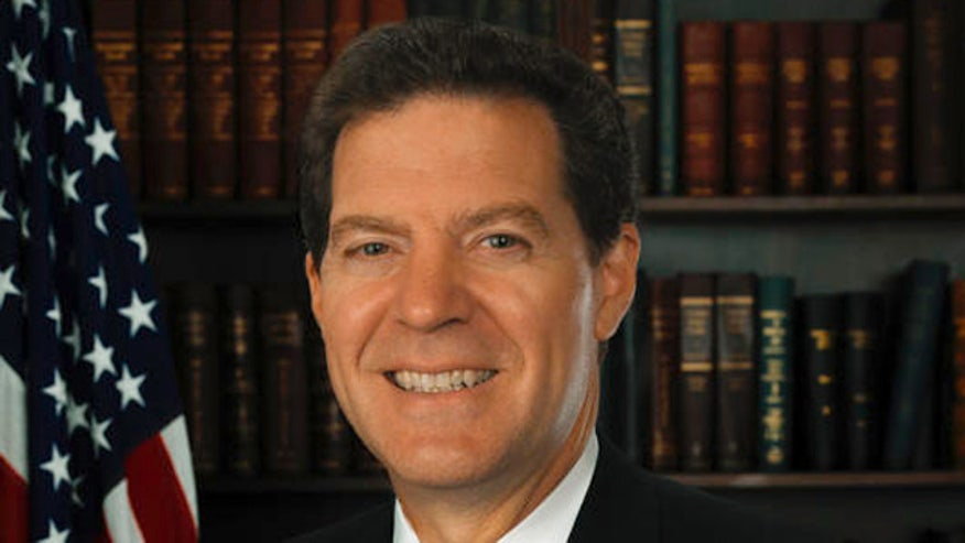 Gov. Sam Brownback on spending cuts