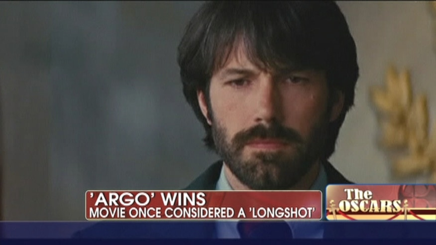 "Ben Affleck's ""Argo"" won best picture as expected, along with two other prizes."