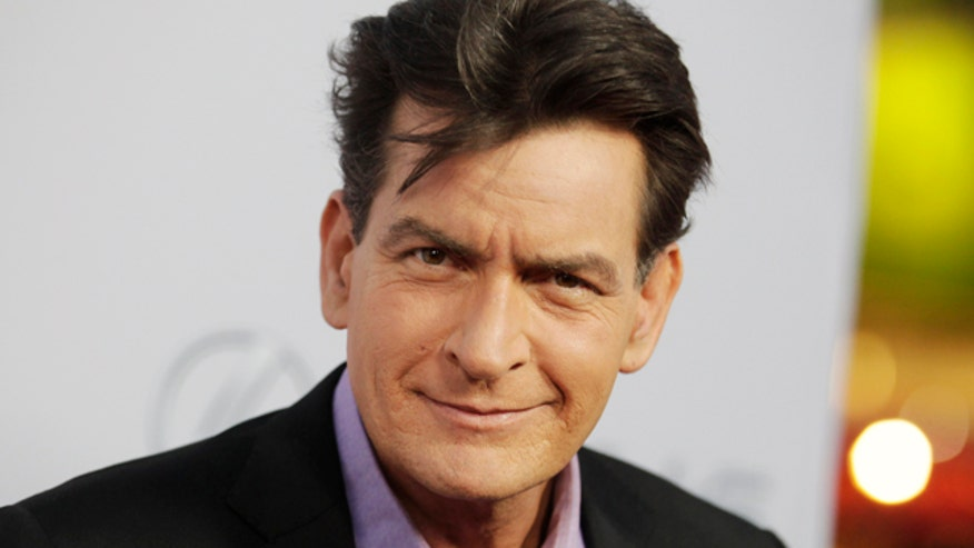 Charlie Sheen is sick of everyone referring to his fiancée as a porn star.