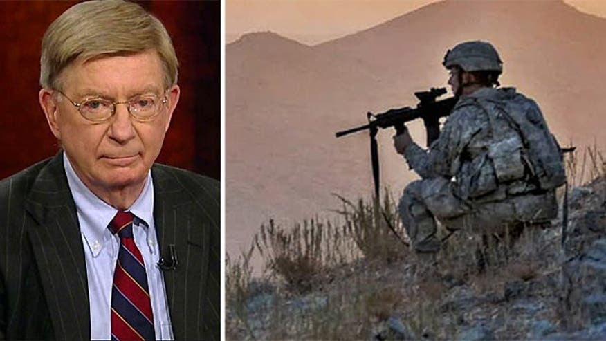 "Syndicated columnist George Will said Wednesday on ""Special Report with Bret Baier"" that the American public would rejoice at a complete troop withdrawal in Afghanistan."