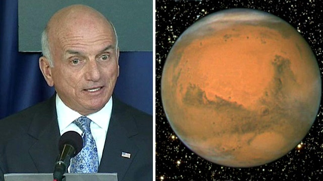 Millionaire space tourist plans private mission to Mars