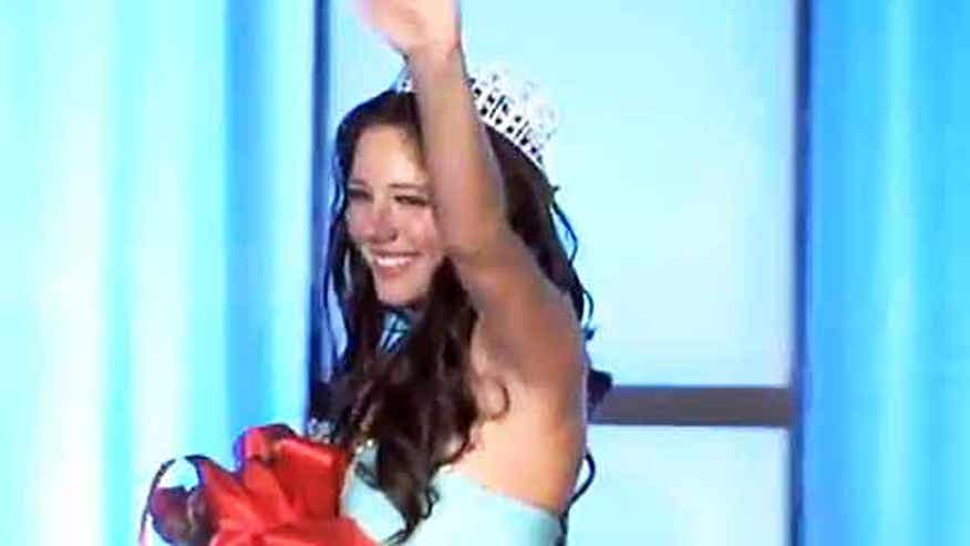 Miss Teen Delaware says it's not her in online sex video, so why did she resign her crown?