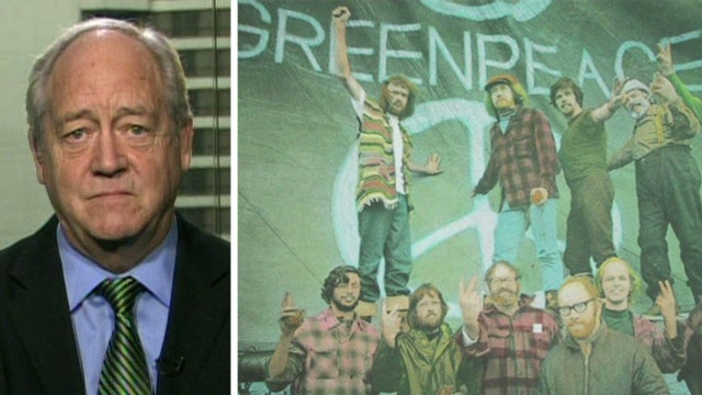 Former Greenpeace founder's 'reality check' for liberals