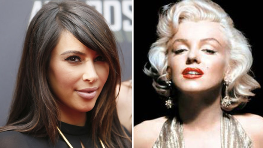 Is Kim Kardashian the next Marilyn Monroe? That may be a stretch.