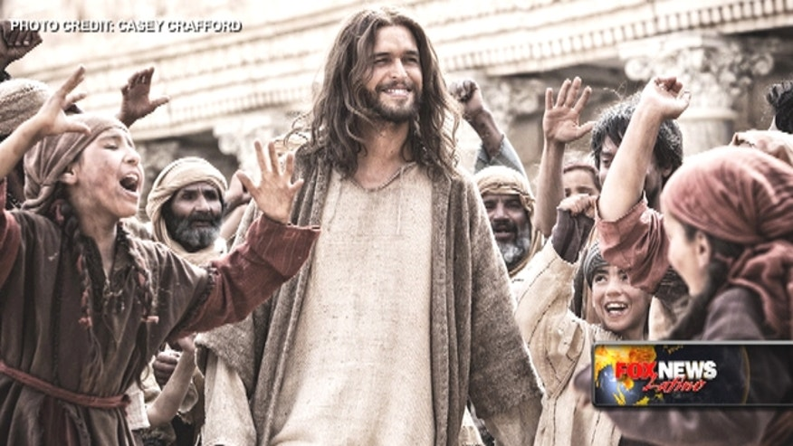 Diogo Morgado, star of 'Son of God', gushes about the greatest love story ever told.