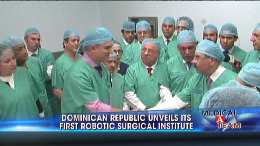 This week the Metropolitan Hospital of Santiago (known as HOMS), Dominican Republic, opened the first robotic surgery institute in the Caribbean.