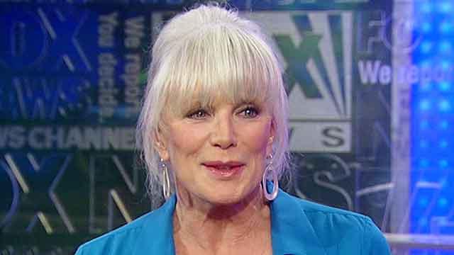 Linda Evans works to end senior hunger