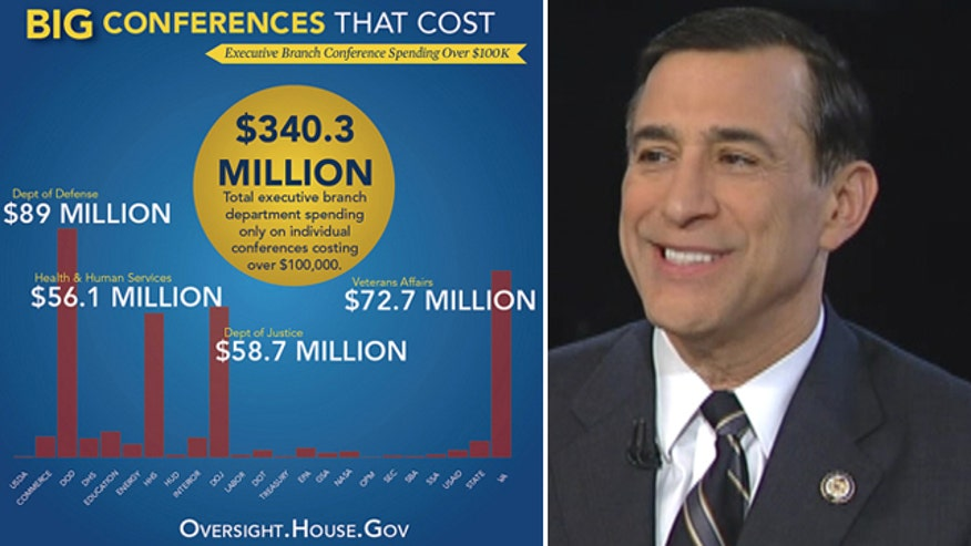 New congressional report shows taxpayers picked up $340 million tab for at least 894 conferences in 2012