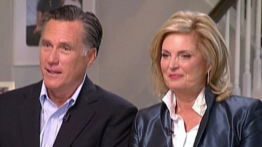 'Fox News Sunday' sneak peek at Mitt and Ann Romney's first interview since losing the election last November