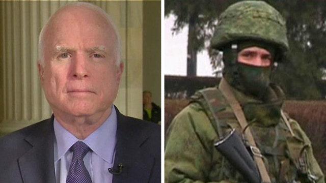 Sen. McCain on latest developments in Ukraine