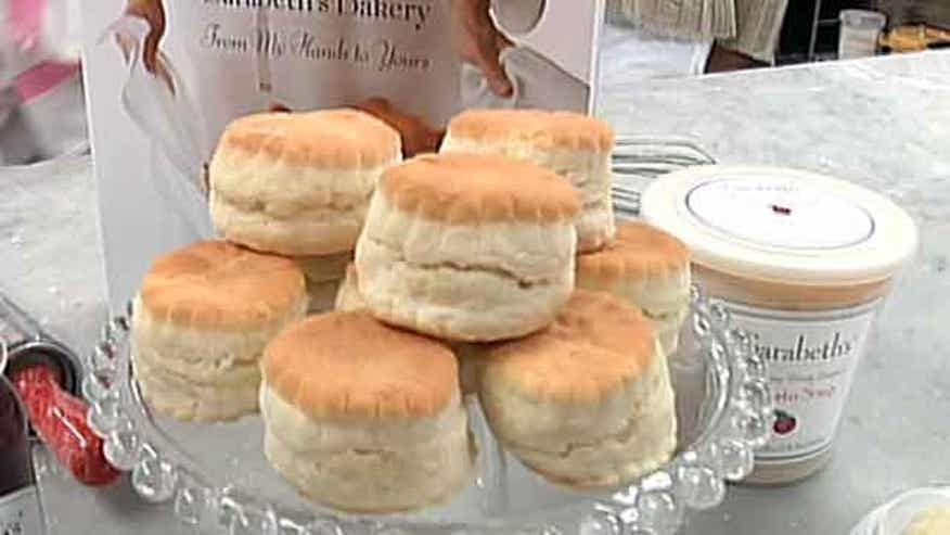 Sarabeth Levine, the maverick that molded her orange-apricot marmalade into a successful restaurant empire, shows Kitchen Superstars how to make her famed biscuits.