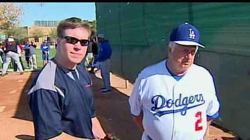 Veteran gets try with Los Angeles Dodgers