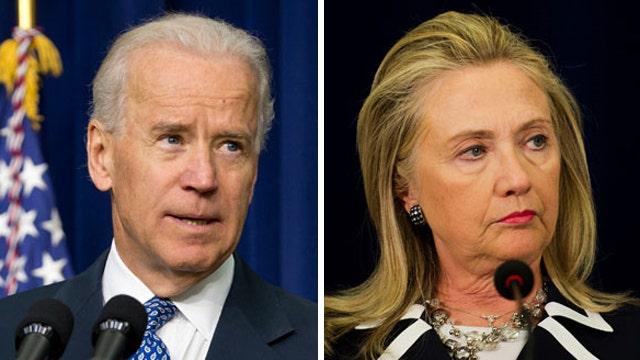 Media question Biden, Hillary on age