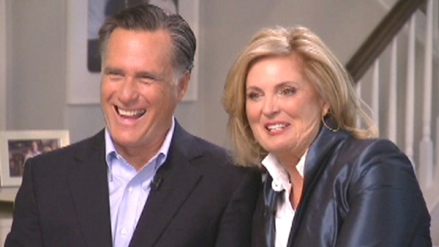 The Romneys' first interview since the campaign