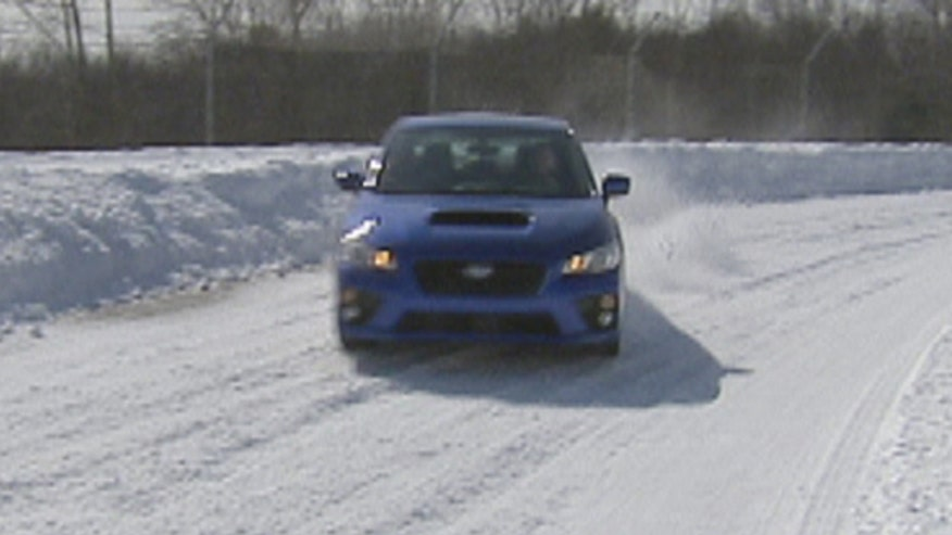 Fox Car Report takes the 2015 Subaru WRX to the Monticello Motor Club for some winter driving tips.