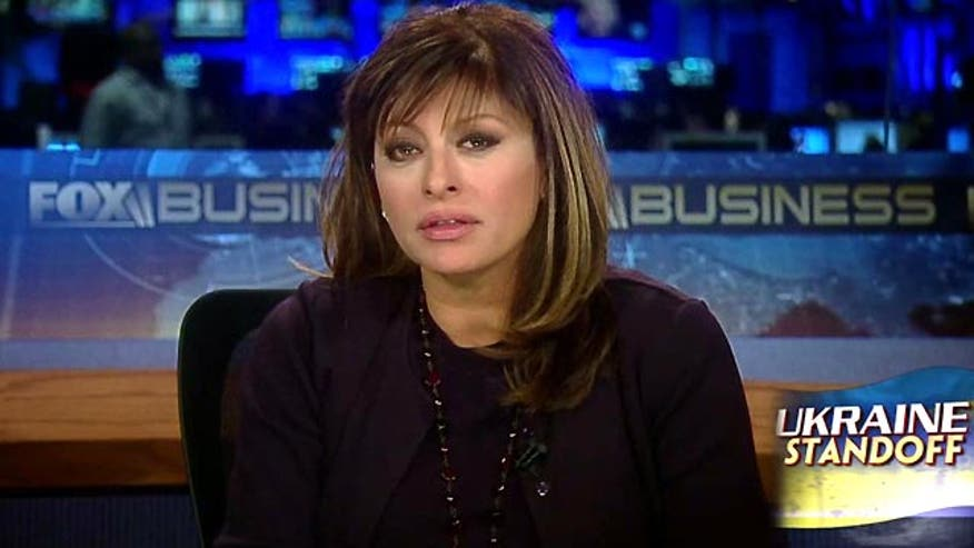 Maria Bartiromo weighs in
