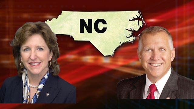2014 North Carolina Senate Race in 90 seconds