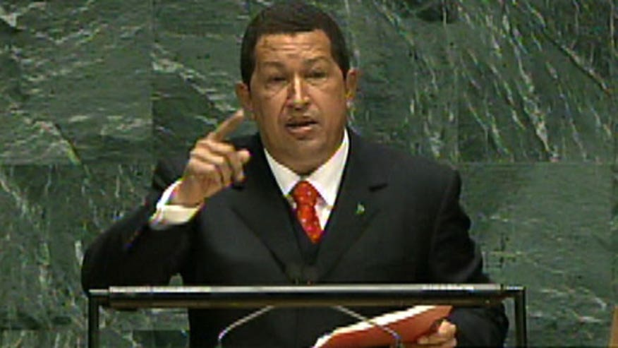 Sept. 20, 2006: Hugo Chavez addresses the U.N. General Assembly