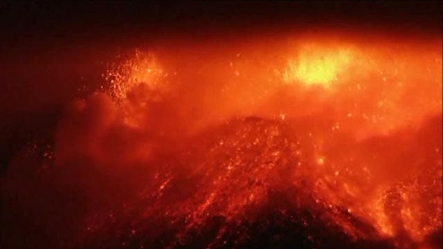 Mount Etna roars to life