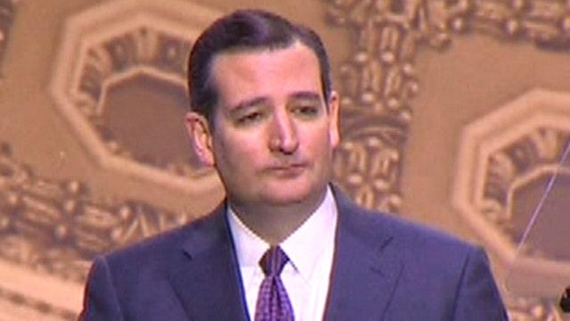 Sen. Ted Cruz speaks at CPAC