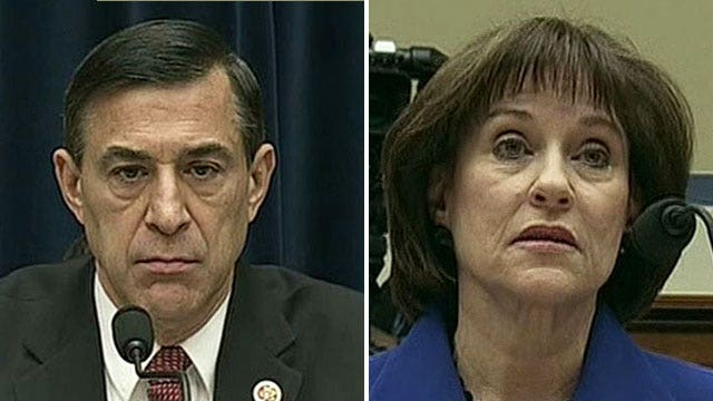 Issa says committee could consider holding Lerner in contempt next week