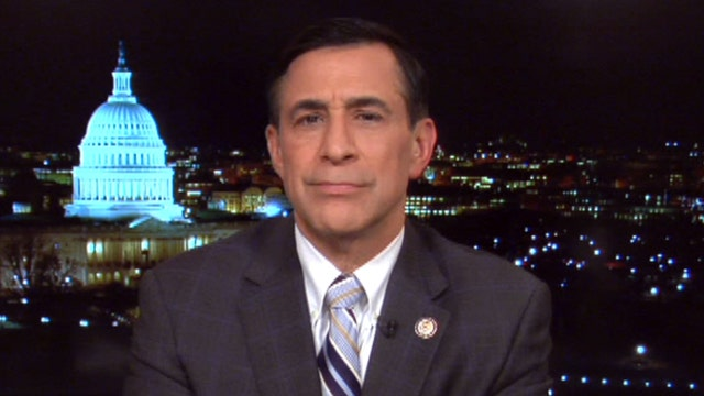 Rep. Issa on IRS hearing: I followed the rules, Rep. Cummings threw a 'hissy fit'