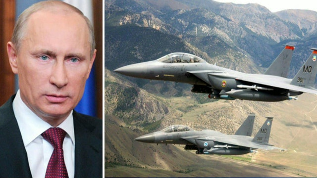Pentagon confronting Putin with 'second best' units?