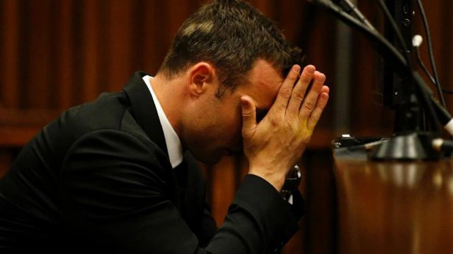 Pistorius' former girlfriend says he cheated on her with woman he killed