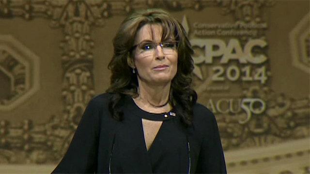 Sarah Palin gives closing speech at 2014 CPAC