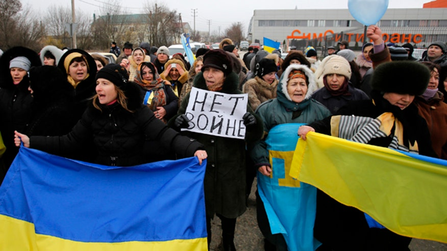 Amy Kellogg reports from Kiev, Ukraine