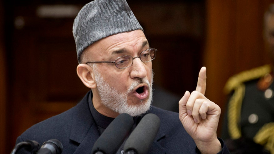 Stunning allegations from Hamid Karzai