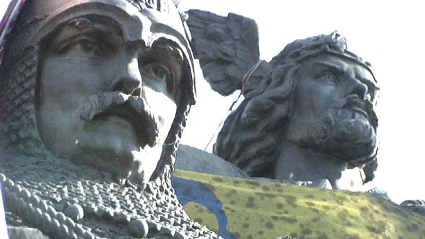 Amy Kellogg looks at Ukraine capital's past