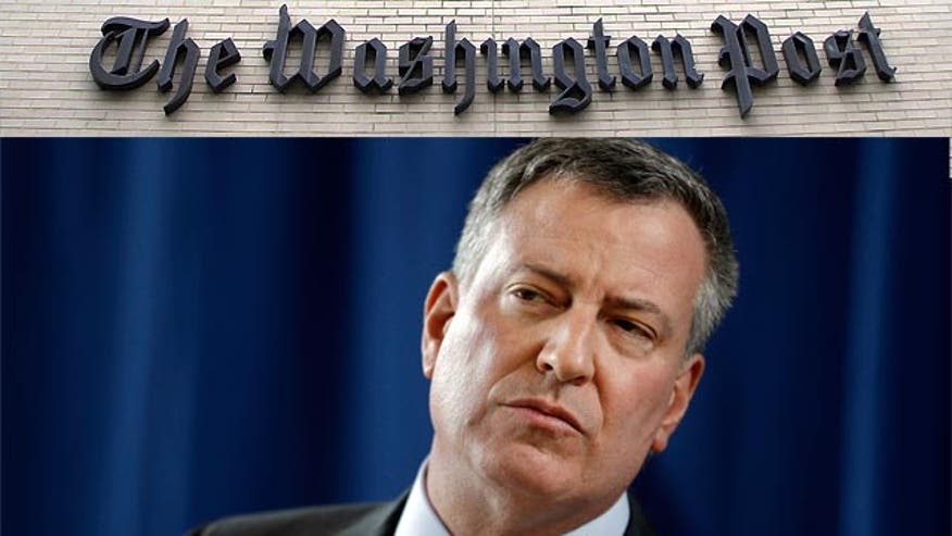 'Off the Record', 3/11/14: The Washington Post doesn't have the guts to tell it like it is with NYC Mayor de Blasio, charter schools and the poor children he's destroying