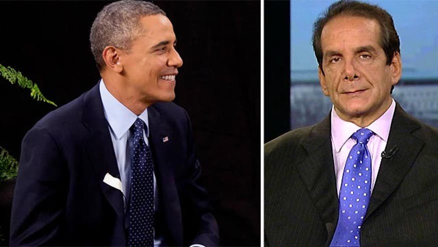 "Krauthammer: President Obama's viral video turn shows ""he's got a problem selling this."""