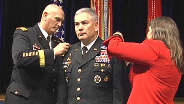 Gen. John F. Campbell sworn in as Army vice chief of staff