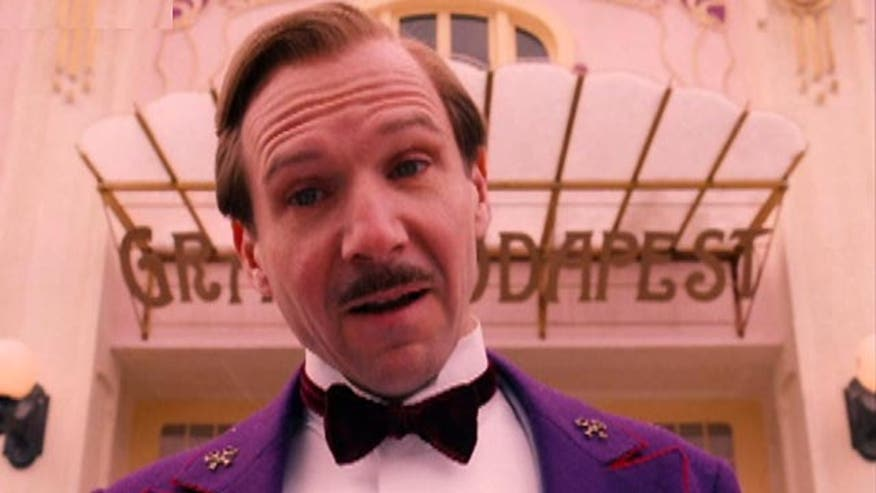 Ralph Fiennes welcomes audiences to the 'Grand Budapest Hotel'