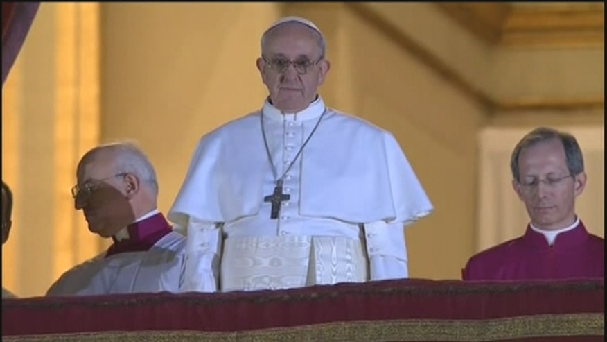 Cardinal Jorge Bergoglio, 76, is the first pope chosen from Latin America.