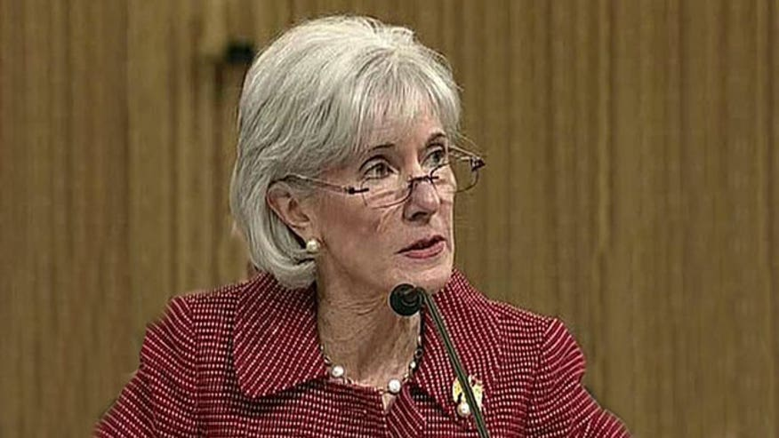 Sebelius: Rates will rise at 'smaller pace'