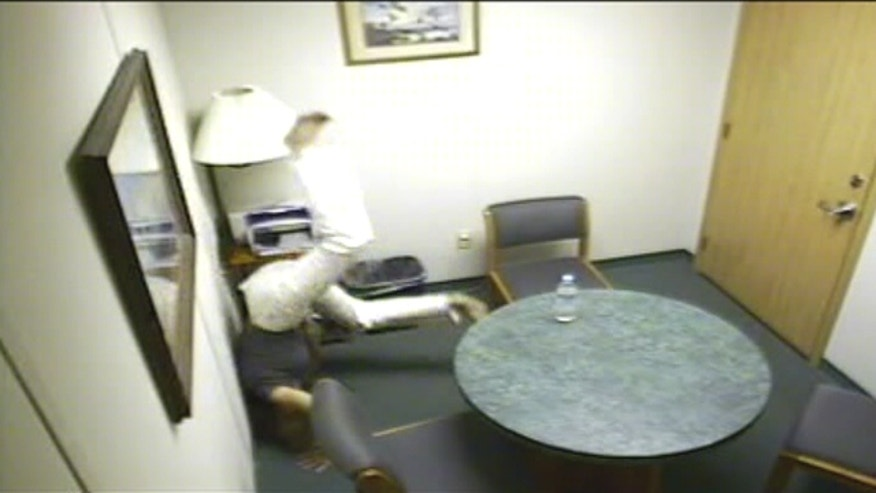 Fox has uncovered surprising video from all the hours and hours that Jodi Arias was interviewed by the police.